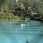 Laghetto di acque solfuree delle Terme di Cotilia